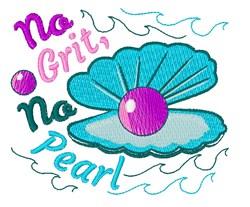 No Pearl embroidery design