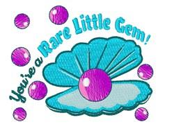 Rare Little Gem embroidery design
