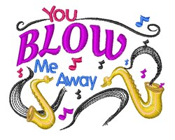 Blow Me Away embroidery design