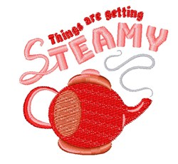 Getting Steamy embroidery design