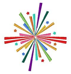 Firework   embroidery design