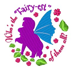 The Fairy-est embroidery design