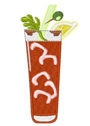 Bloody Mary embroidery design