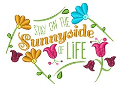 Sunnyside Of Life embroidery design