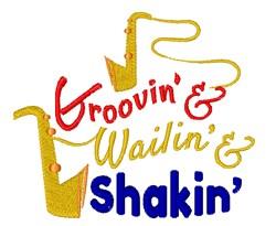 Wailin & Shakin embroidery design