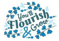 Flourish & Grow embroidery design