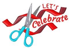 Lets Celebrate embroidery design