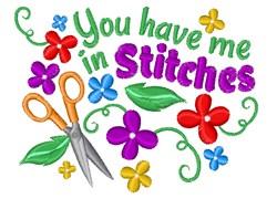 In Stitches embroidery design