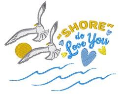Shore Do Love You embroidery design