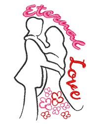 Eternal Love embroidery design