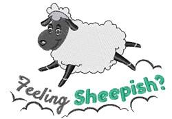 Feeling Sheepish embroidery design