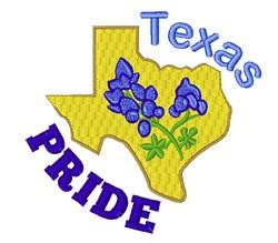 Texas Pride embroidery design