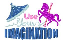 Your Imagination embroidery design