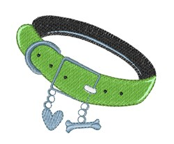 Dog Collar embroidery design