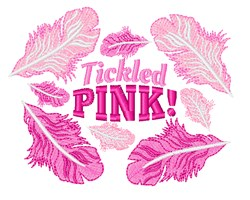 Tickled Pink embroidery design