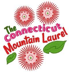 Mountain Laurel embroidery design