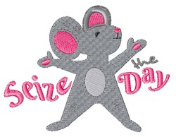 Seize The Day embroidery design
