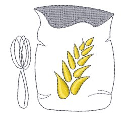 Flour Sack embroidery design