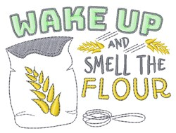 Smell The Flour embroidery design