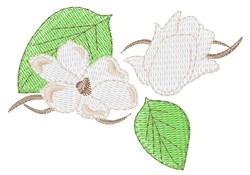 Magnolia Blooms embroidery design