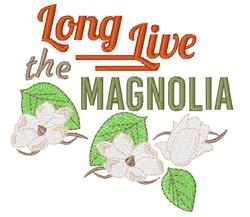 The Magnolia embroidery design