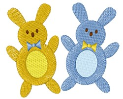 Bunny Peeps embroidery design