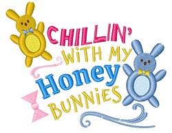 My Honey Bunnies embroidery design