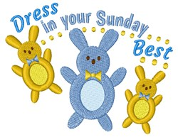 Your Sunday Best embroidery design