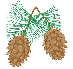 Pine Cone embroidery design