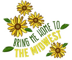 The Midwest embroidery design