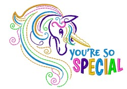 Youre So Special embroidery design