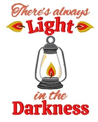 Light In Darkness embroidery design