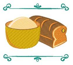 Bake Bread embroidery design