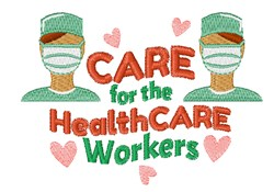 Healthcare Workers embroidery design