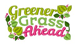 Greener Grass embroidery design