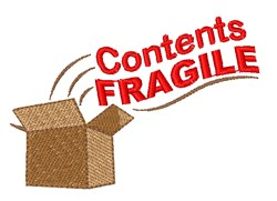 Contents Fragile embroidery design