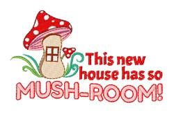 So Mushroom embroidery design
