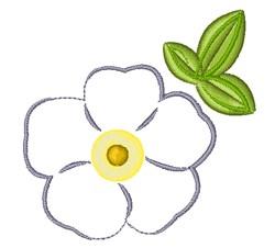 Georgia Flower embroidery design
