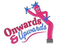 Onwards & Upwards embroidery design