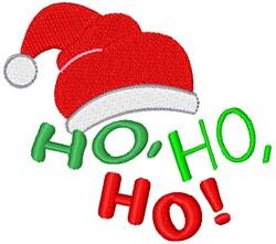 Ho Ho Ho! embroidery design
