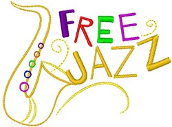 Free Jazz embroidery design