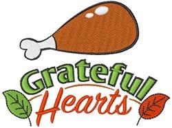 Grateful Hearts embroidery design