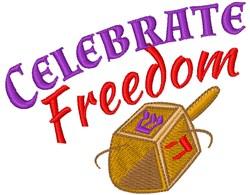 Celebrate Freedom embroidery design