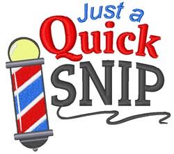 Quick Snip embroidery design