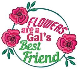 Gals Best Friend embroidery design