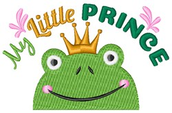 My Little Prince embroidery design