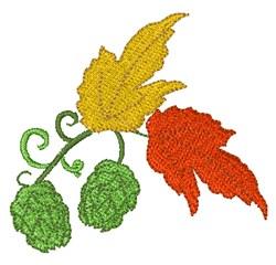 Hops On Vine embroidery design