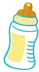 Baby Bottle  embroidery design