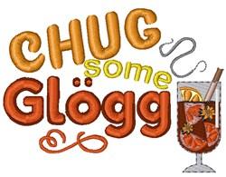 Chug Some Glogg embroidery design