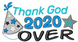 2020 Is Over embroidery design